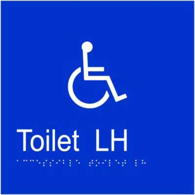 Accessible Toilet LH