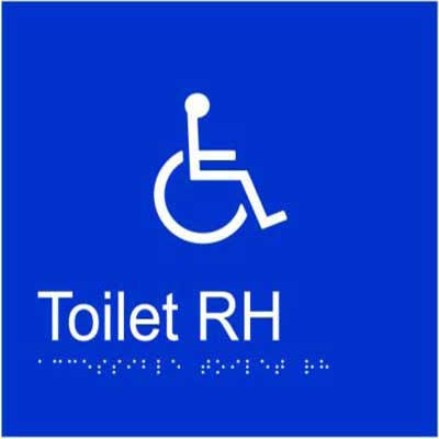 Accessible Toilet RH