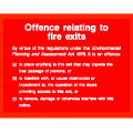 Offence Related To Fire