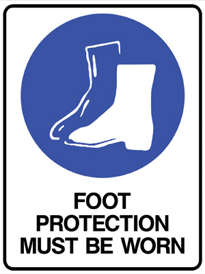 Footwear Must be Worn