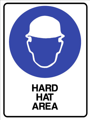 Mandatory Hard Hat Area